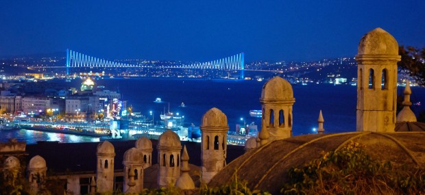 Istanbul night view